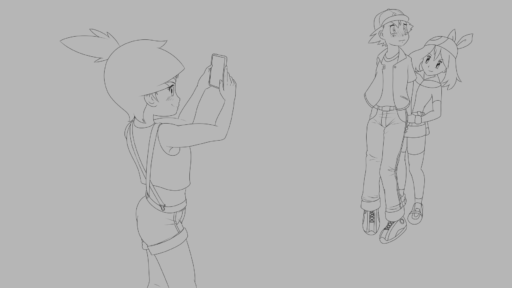 Girl Troubles WIP2